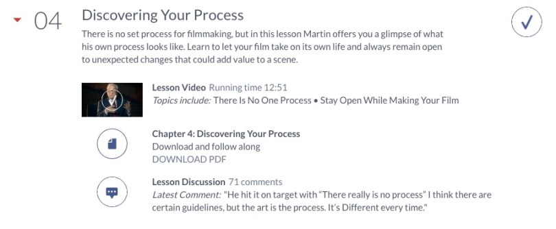 how masterclass.com courses work