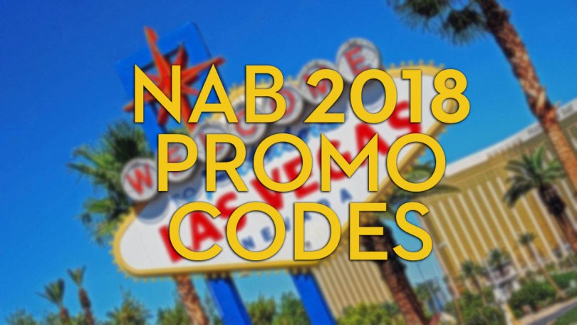 Nab 2018 discounts and promo codes jonny elwyn film editor nab 2018 discounts and promo codes fandeluxe Choice Image
