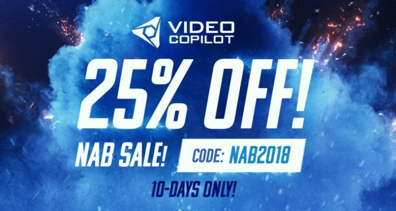 Nab 2018 discounts and promo codes jonny elwyn film editor video copilot promo code fandeluxe Choice Image