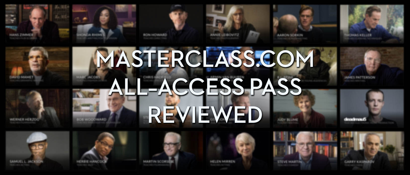 Masterclass.com All-access pass reviewed