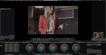colour grading in assimilate scratch