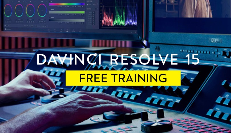 Free Davinci Resolve 15 online training