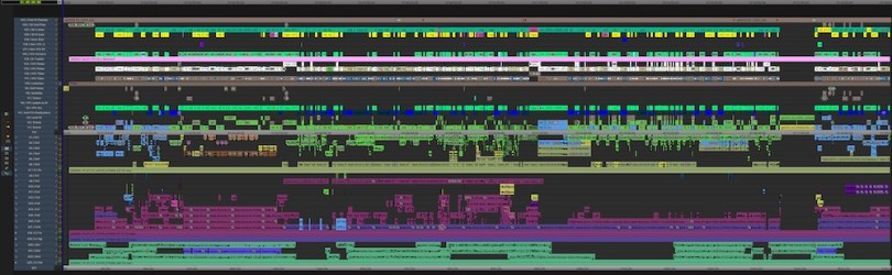 Hollywood editors timeline breakdown