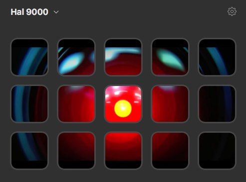 Hal 9000 stream deck profile