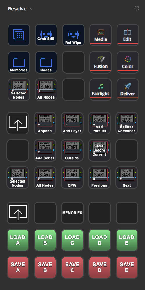 DaVinci Resolve Stream Deck Mapping