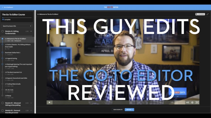 This Guy Edits Editing course review
