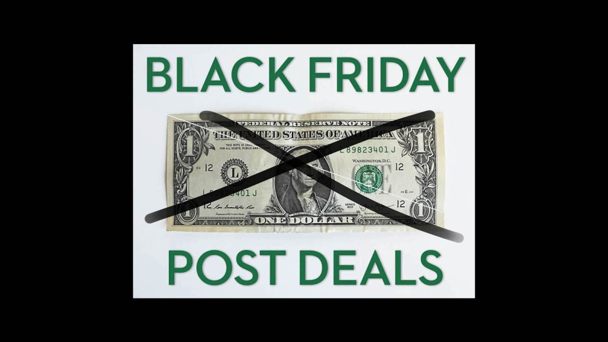 The Best Black Friday Post Production Deals 2019 | Jonny