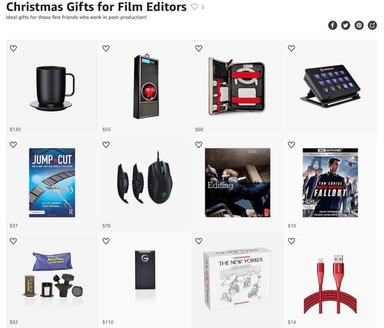 The Best Christmas Gifts for Film Editors