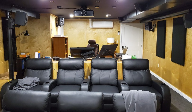 Building a home theater edit suite
