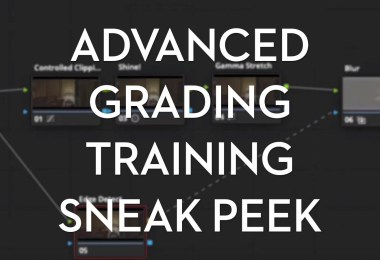 LowePost Advanced Color Grading Training Reviewed