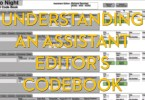 Inside a first assistant film editor codebook