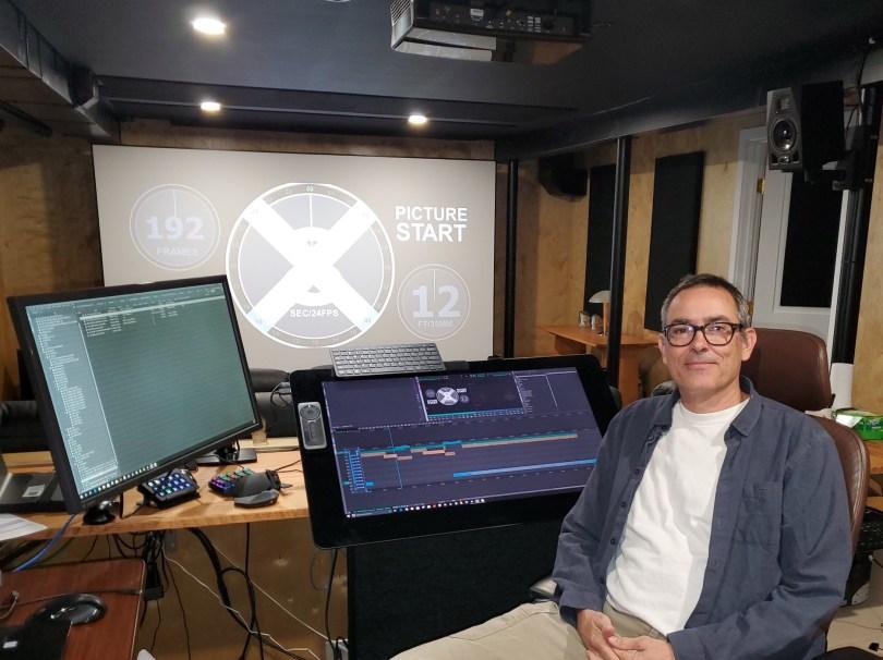 Using a Wacom Cintiq for Feature Film Editing - Alan Edward Bell