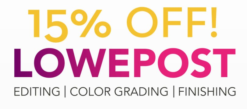 LowePost 15% off