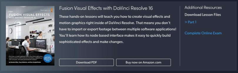 free official blackmagic design davinci resolve fusion training ebook