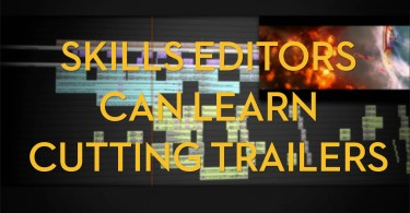 Skills editors can learn cutting trailers