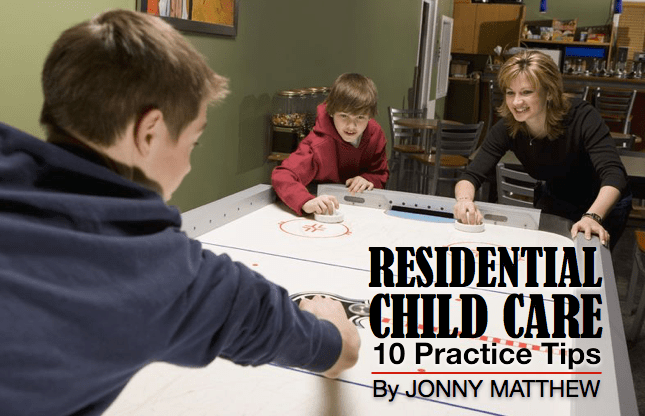 Residential child care…