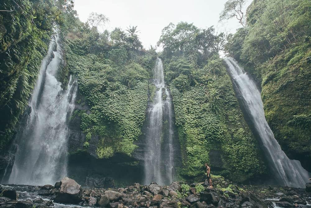sekumpul waterfall, waterfalls bali, bali waterfalls