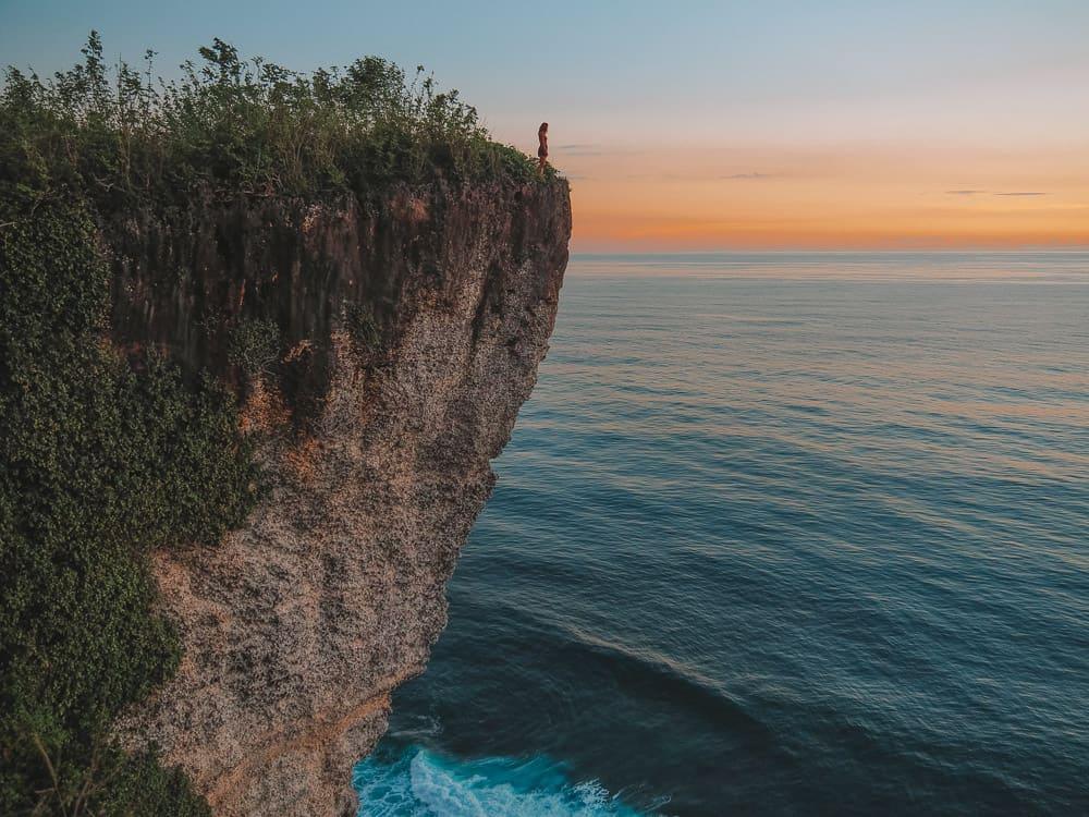 karang boma cliff