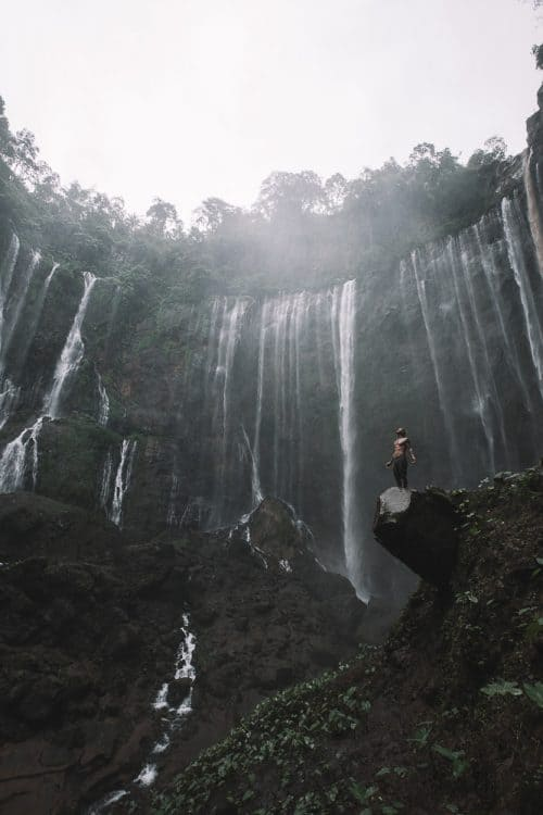tumpak sewu, tumpak sewu waterfall, coban sewu, air terjun tumpak sewu, air terjun coban sewu, coban sewu waterfall