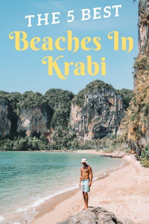 best beaches in krabi, tonsai beach, krabi beach, things to do in krabi, railay beach krabi, railay beach west, west railay beach, east railay beach, railay east beach, raliay viewpoint, phra nang beach, ao phra nang beach