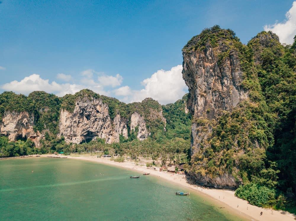 best beaches in krabi, tonsai beach, krabi beach, things to do in krabi, tonsai beach thailand