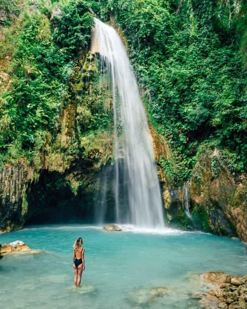 inambakan falls, inambakan falls cebu, inambakan falls ginatilan, ginatilan falls