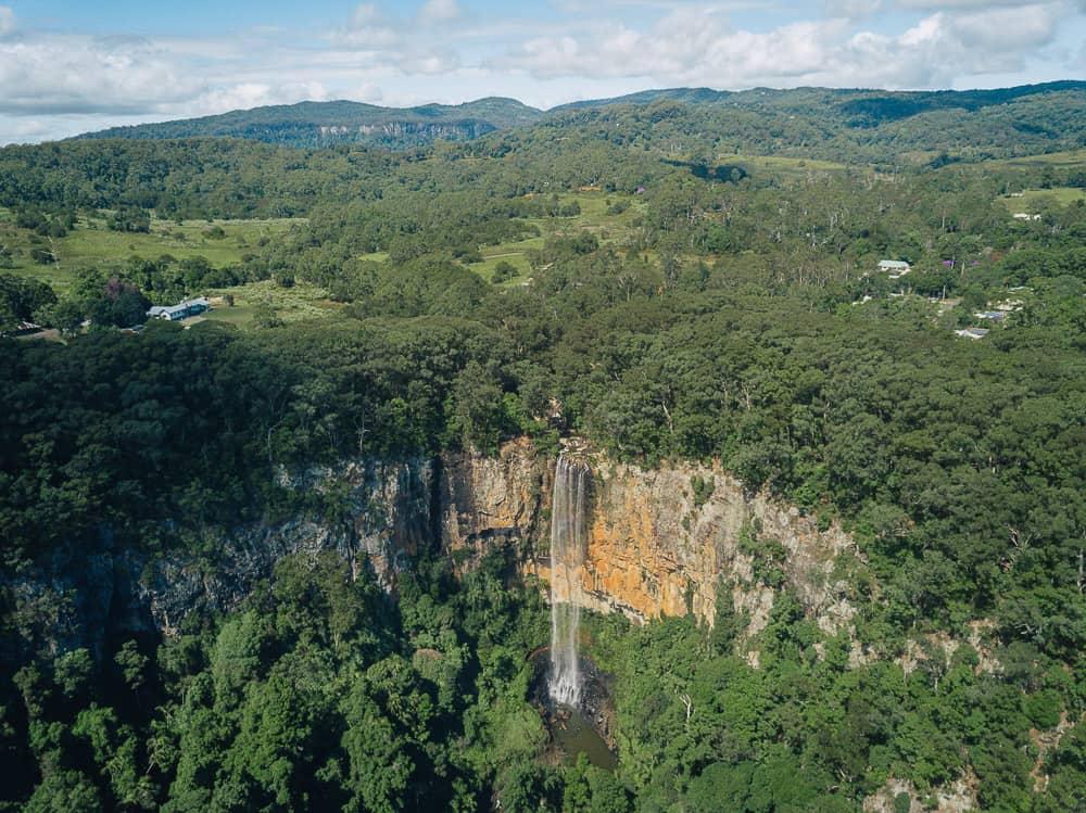 purlingbrook falls, purling brook falls, purlingbrook falls springbrook, purling brook falls springbrook, springbrook waterfall, waterfalls springbrook