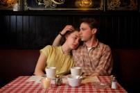 "Saorise Ronan as ""Eilis"" and Emory Cohen as ""Tony"" in ""Brooklyn."" (Kerry Brown/Twentieth Century Fox)"