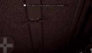 auditoriumdoorlocked