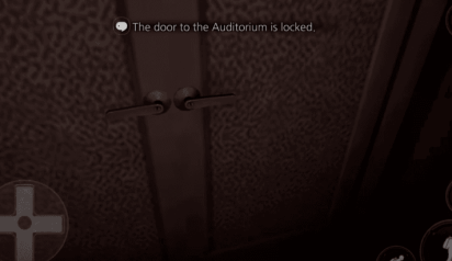 auditoriumdoorlocked
