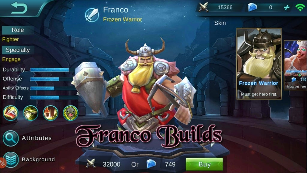 Panduan Mobile Legends Bang Bang – Hero Builds: Franco