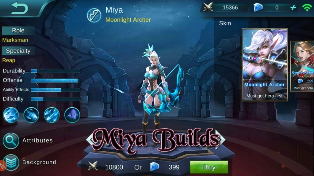 Panduan Mobile Legends Bang Bang – Hero Builds: Miya