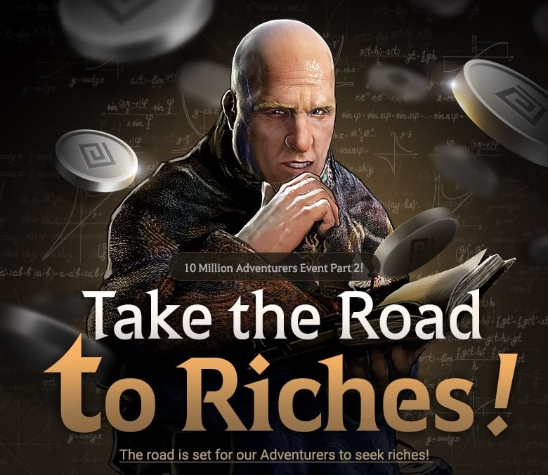 Event: Take the Road to Riches! – Black Desert Online