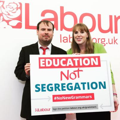 Jono and Angela Rayner MP