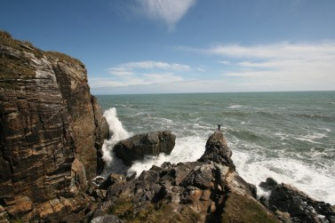 Climbing on the West Coast of New Zealand