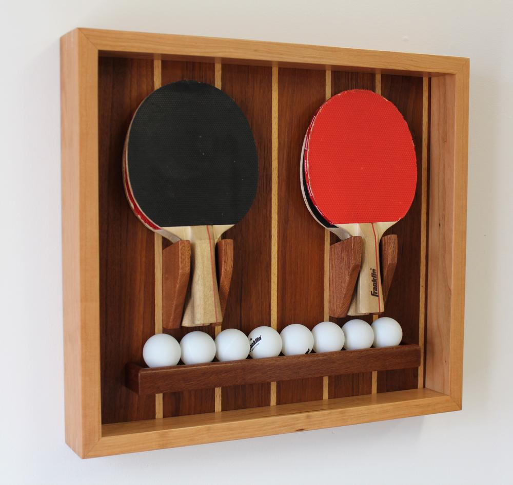 Make A Custom Ping Pong Paddle Amp Ball Holder Design
