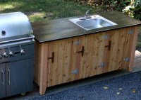 How to Build an Outdoor Kitchen Cabinet | Jon Peters Art ...