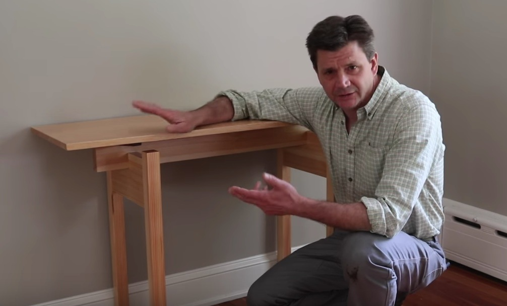 how to make a sofa table top double loft bed with underneath floating free design plans jon peters