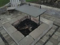 Stainless Steel Fire Pit Cooking Grate | Jon Pohlman
