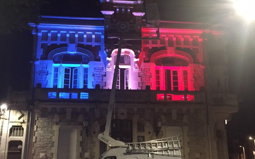 La Mairie bientôt parée de nouvelles illuminations