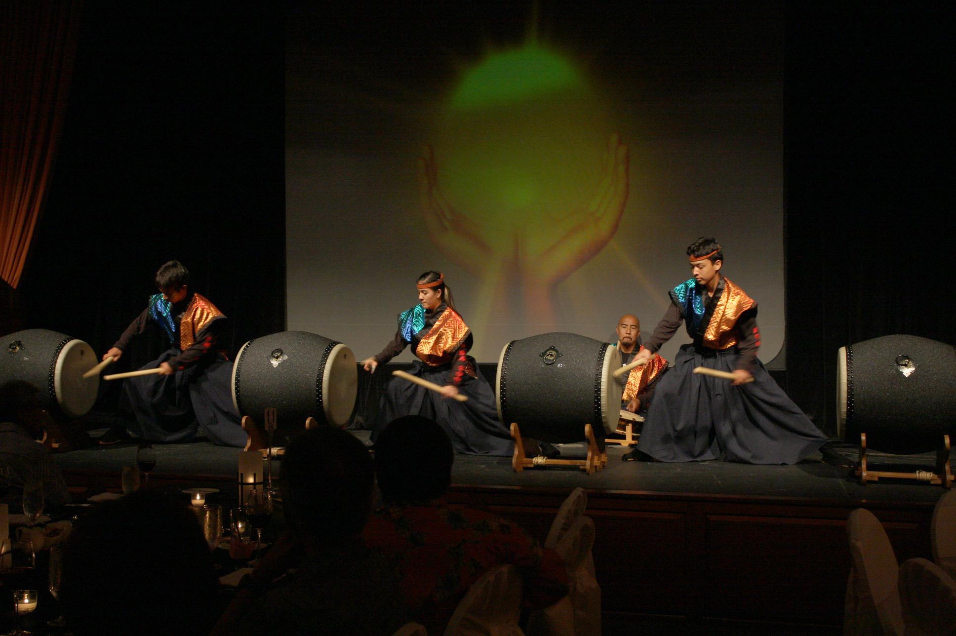 Pacific Buddhist Academy Taiko Performance