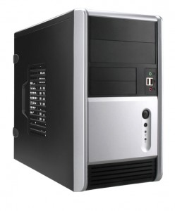 Desktop mid-tower computer case