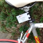 ChipCard printed with the racer name and USA cycling license/account number.