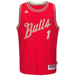 Chicago Bulls Derrick Rose Christmas Jersey