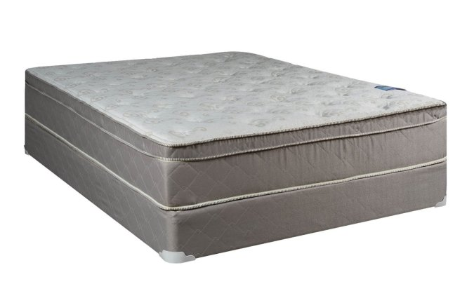 Continental Sleep Mattress Fully Assembled Orthopedic Queen Size And Box Spring