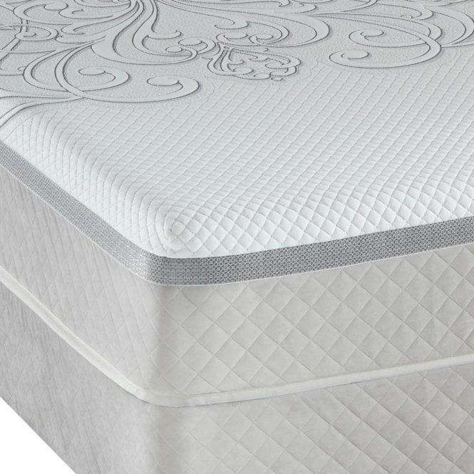 Queen Hybrid Series Trust Sealy Posturepedic Mattress Cushion Firm Set 11 5 In