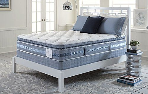 Serta Perfect Sleeper Lakewood Super Pillow Top Mattress Hybrid Gel Queen Set