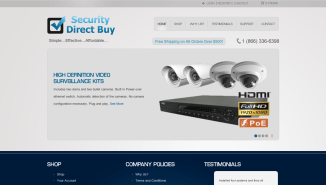 Security Direct Buy Homepage