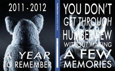 Humberview Yearbook Cover 2011-2012