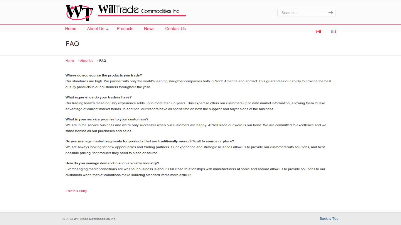 WillTrade FAQ
